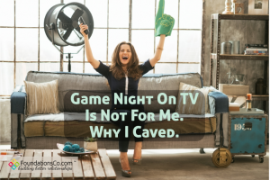 Game night on TV is not for me. Why I caved