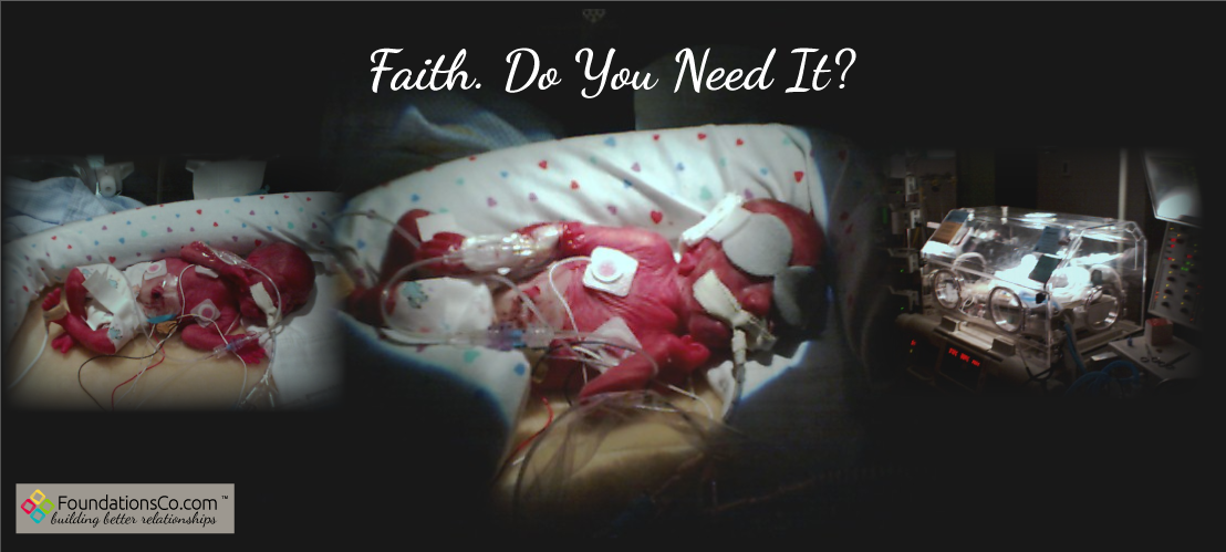 Faith. Sometimes It's All You Got.
