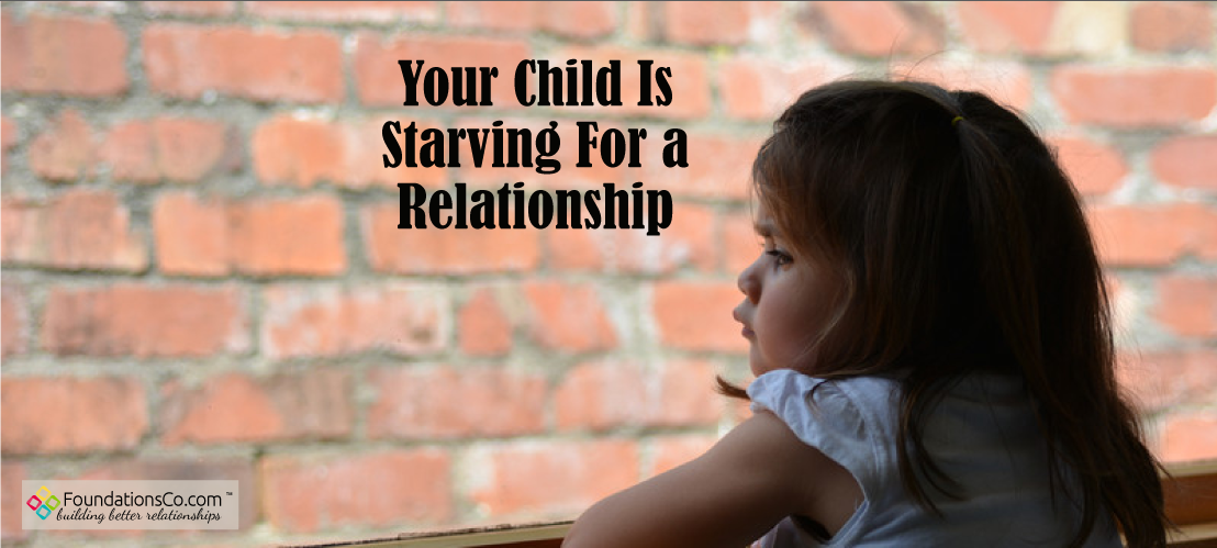Your Child Is Starving For A Relationship - Lonely Kids