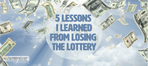 Lessons I Learned Losing the Lottery