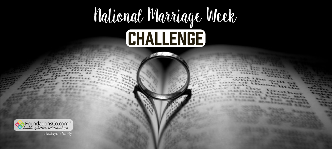 National Marriage Week Challenge