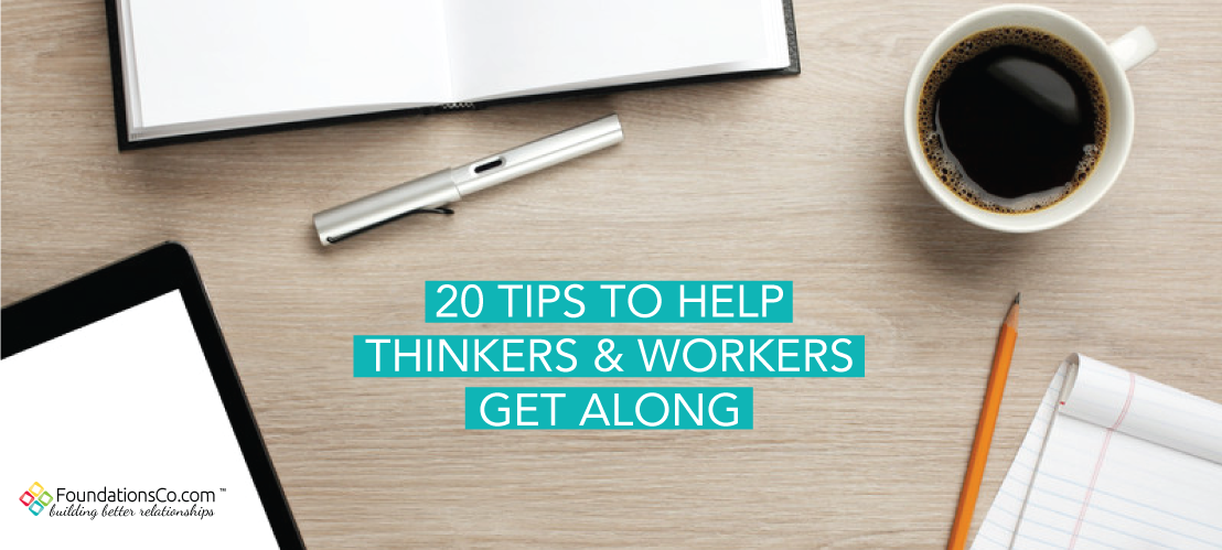 How Thinkers and Workers Get Along