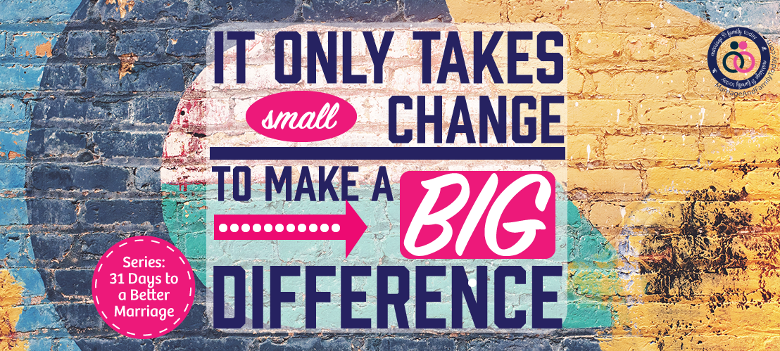 Making a Small Change Makes a Big Difference