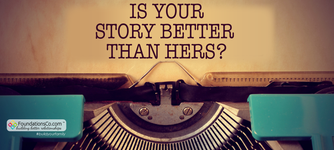Typewriter: Is Your Story Better Than Hers?