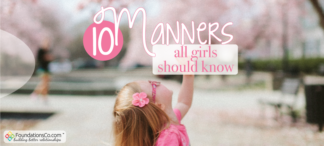 10 Manners All Girls Should Know